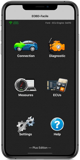 Car diagnostic app EOBD Facile for iPhone/iPad - Outils OBD