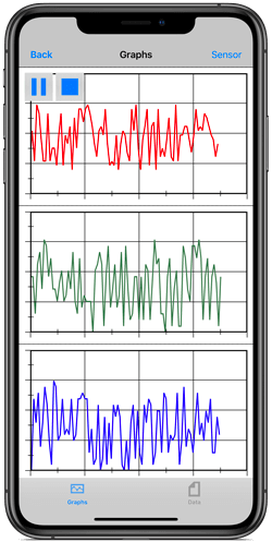 EOBD-Facile for iPhone / iPad real-time graphs
