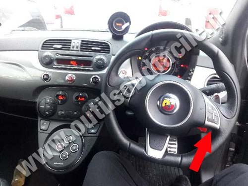 Abarth 500 - Dashboard