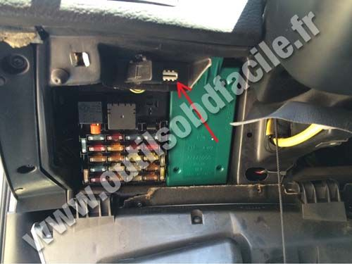 obd2 connector location in alfa romeo 166 (1998 - 2003 ... fuse box scanner