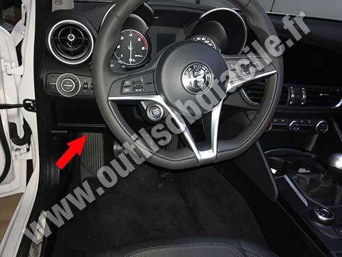 Alfa Romeo Giulia - Pedals