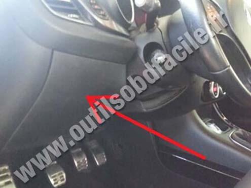 Alfa Romeo Giulietta steering wheel