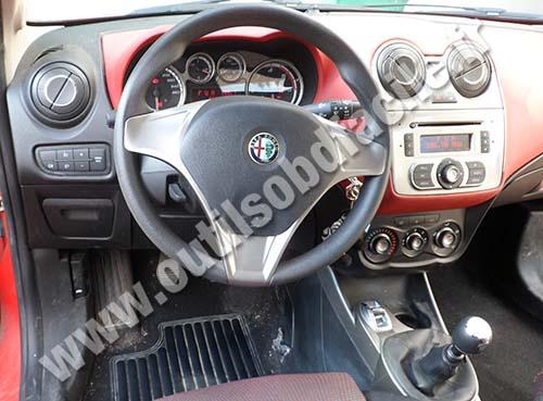 Dashboard Alfa Romeo Mito