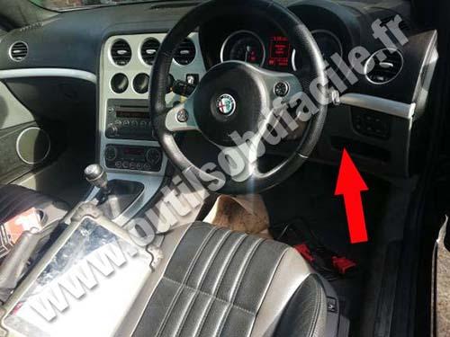 Alfa Romeo Spyder - Dashboard