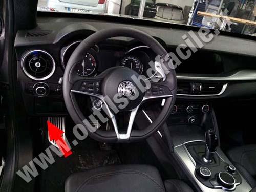 Alfa Romeo Stelvio - Dashboard