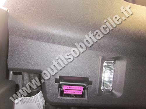 Audi A1 OBD Connector