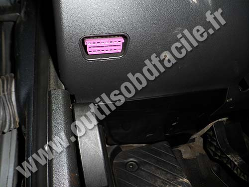 Audi A3 OBD Connector