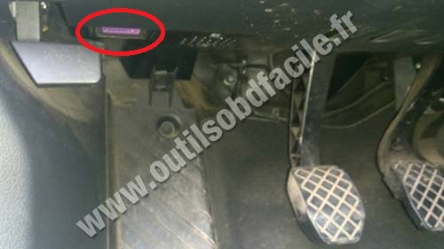 Obd2 Connector Location In Audi A4 B7 2004 2008