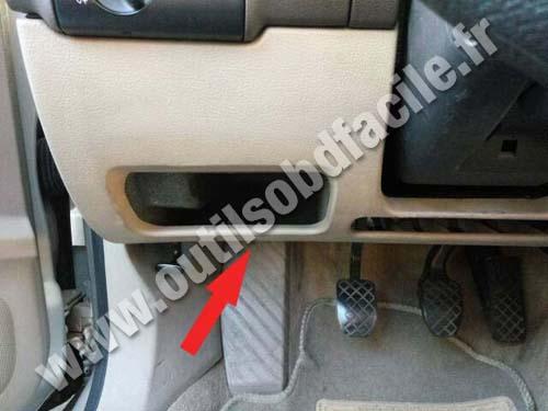 Obd2 Connector Location In Audi A6 C5 1997 2004