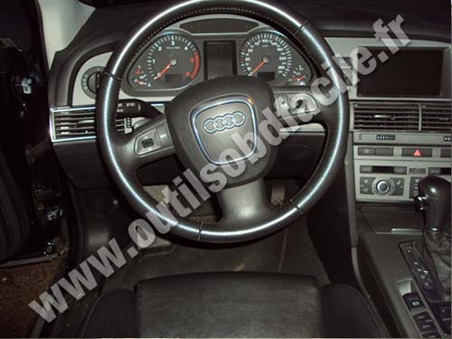 OBD2 connector location in Audi A6 (C6) (2004 - 2010 ...