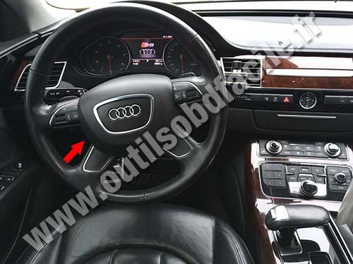 Audi A D Dashboard on Obd Ii Port Location