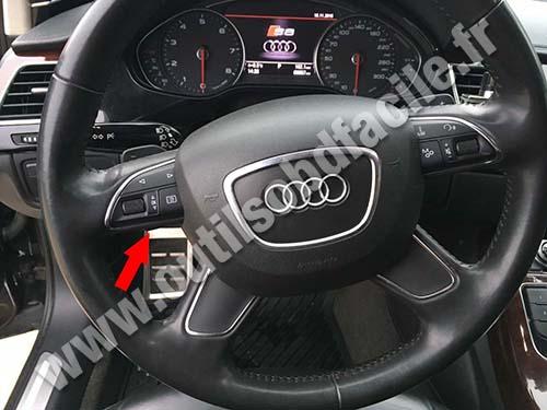 Audi A8 (D3) - Pedals