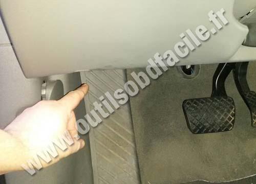 Audi Q5 brake pedal