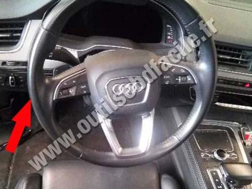 Audi Q7 - Pedals