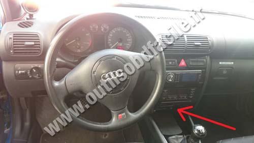 Audi S3 dashboard