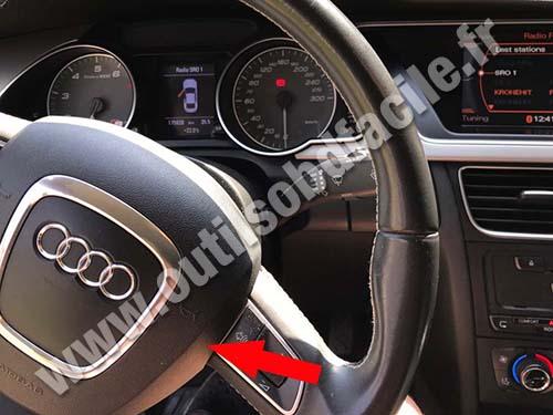 Audi S5 - Dashboard