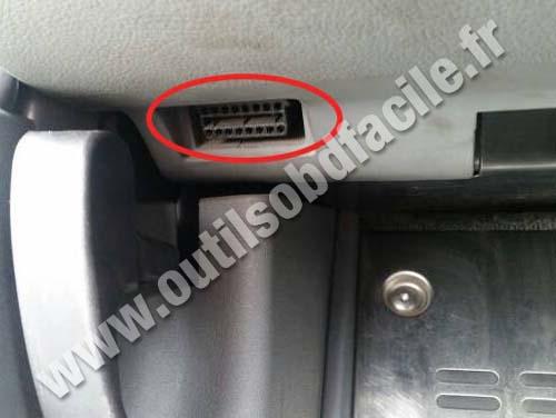 Audi TT - OBD2 Socket
