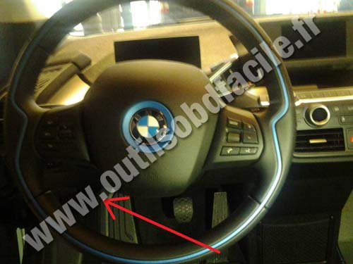 Obd2 Connector Location In Bmw I3 I01 2013