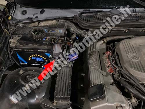 BMW Serie 3 E36 - Engine bay