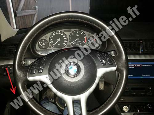 BMW Serie 3 E46 dashboard