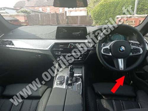 BMW Serie 5 G30/G31 - Dashboard