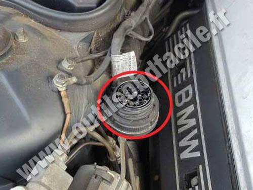 BMW Serie 7 E38 - 20 pin round connector