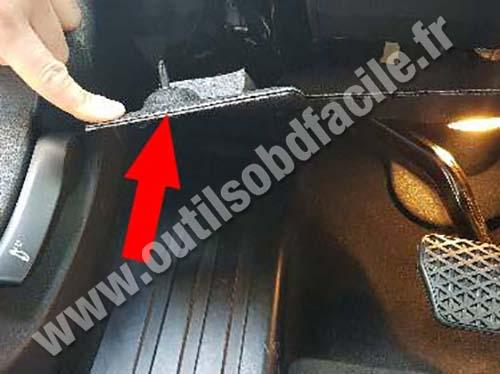 BMW Serie 7 G11/G12 - Footrest