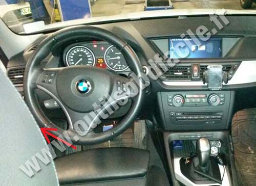 Obd2 Connector Location In Bmw X1 E84 2009 2015