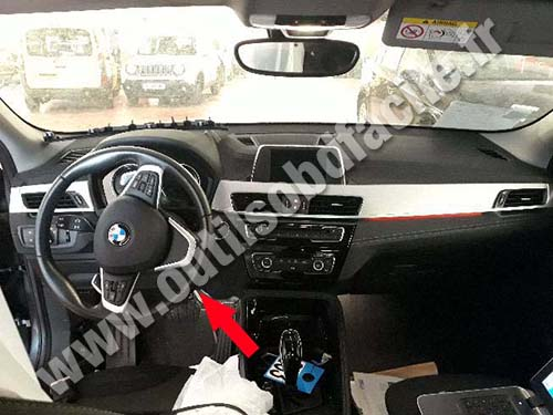 BMW X2 - Dashboard