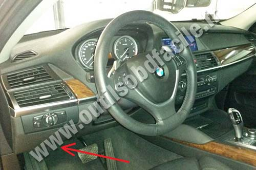 BMW X6 dashboard