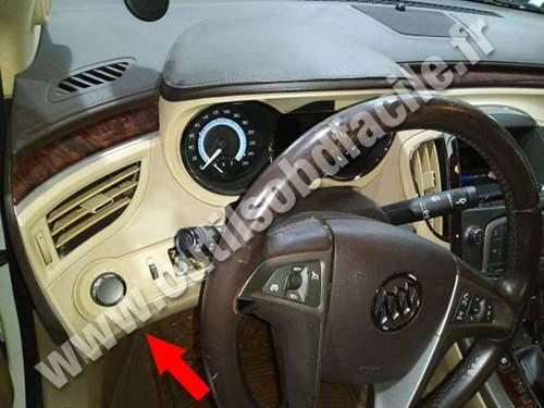 Buick LaCrosse - Dashboard