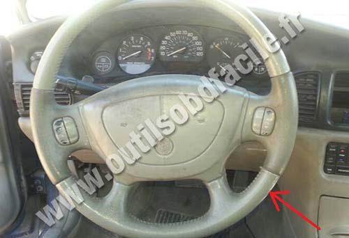 Buick Regal dashboard