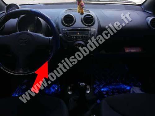 BYD F0 - Dashboard