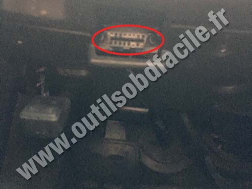 OBD2 connector location in Cadillac CTS (2007 - 2013 ...