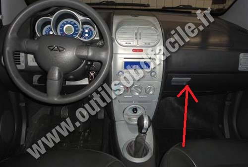 Chery Face dashboard
