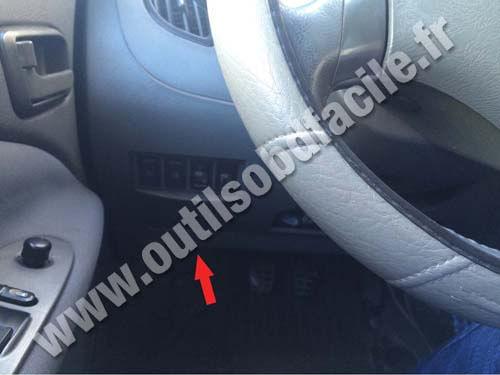 Chery Tiggo T11 - Steering wheel