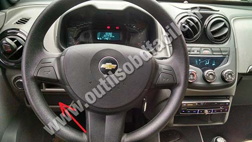 Chevrolet Agile dashboard