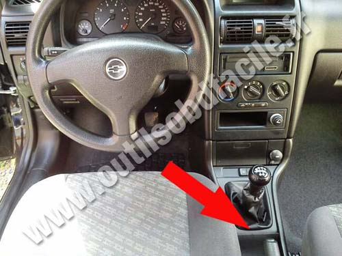 Chevrolet Astra Dashboard