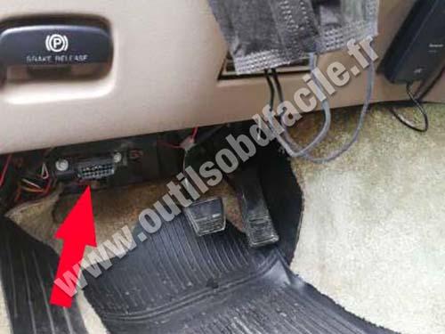 Chevrolet Astro - Pedals