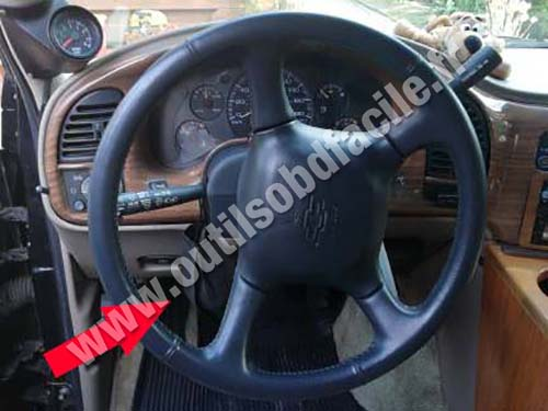 Chevrolet Astro - Dashboard