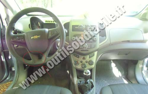 Chevrolet Aveo II dashboard