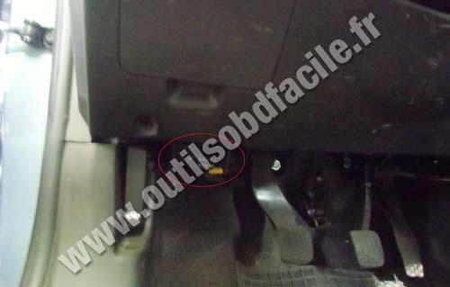 Chevrolet Aveo Pedals Obd Socket