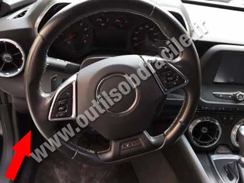 Chevrolet Camaro - Pedals