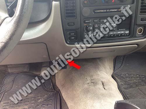 Chevrolet Caprice - Pedals