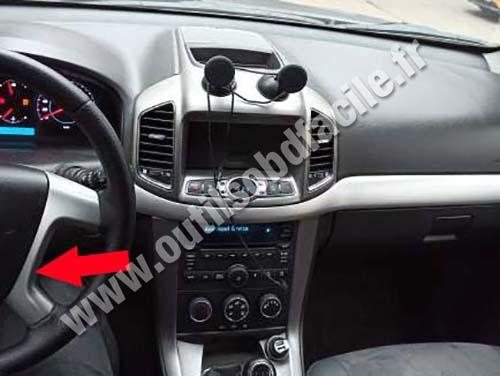 Chevrolet Captiva - Dashboard