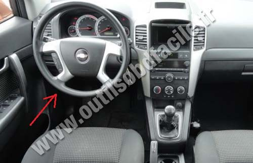 Chevrolet Captiva dashboard