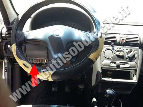 Chevrolet Celta Dashboard