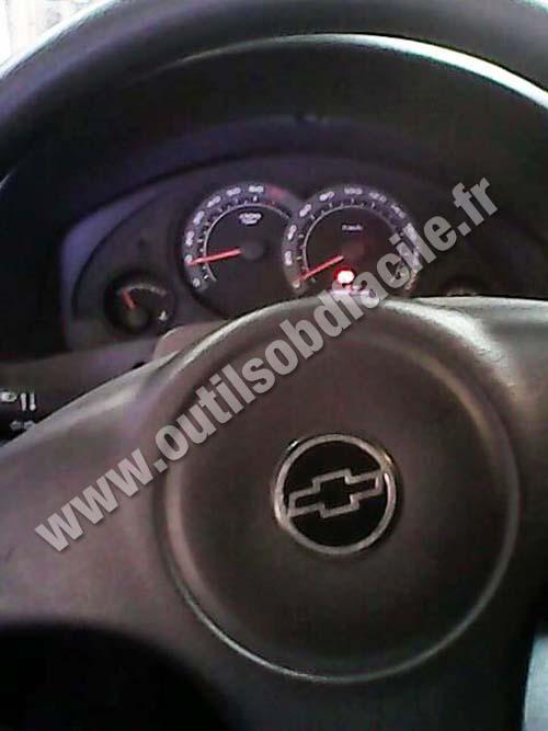 Chevrolet Celta dashbaord