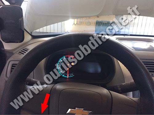 Chevrolet Cobalt LT - Steering wheel
