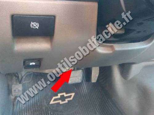 Chevrolet Colorado - Pedals